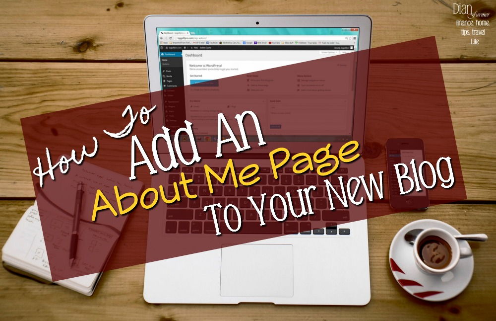 Adding-An-About-Me-Page-To-Your-New-Blog