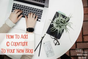 How-To-Add-Copyright-To-Your-New-Blog