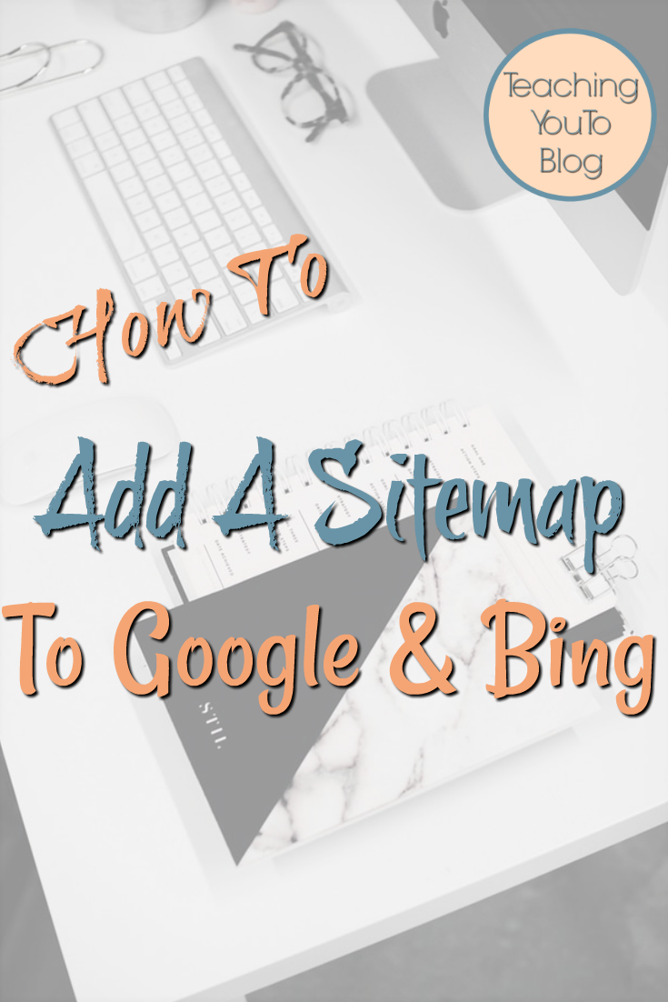 How To Add A Sitemap To Google & Bing. This post will walk you through the process step by step with images & video. First you need to create a sitemap for your website, you'll need a sitemap generator to create the sitemap. There are many sitemap builders you can use to create an xml sitemap & that helps your SEO.