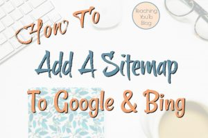 How To Add A Sitempa To Google And Bing h