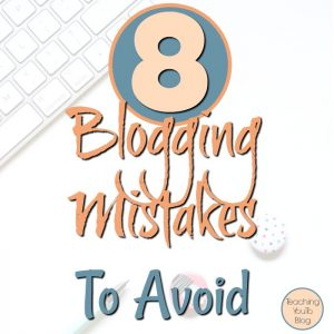 8 Blogging Mistakes To Avoid