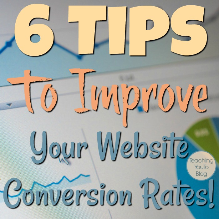 What is a conversion rate & how can we improve it?  As bloggers we are all concerned with conversion rates in many areas of our business.  Be sure to read these 6 Tips To Improve Your Website Conversion Rates!