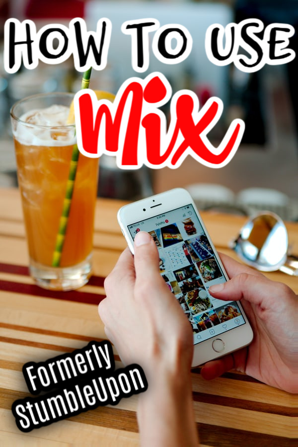 Using Mix (formerly StumbleUpon) to share your content and gain more readers is a great way to go!  Clock through NOW to learn more...